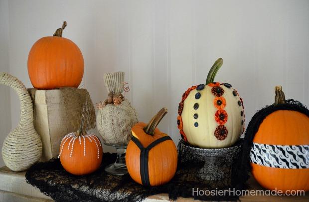 6 Easy Decorated Pumpkins Hoosier Homemade