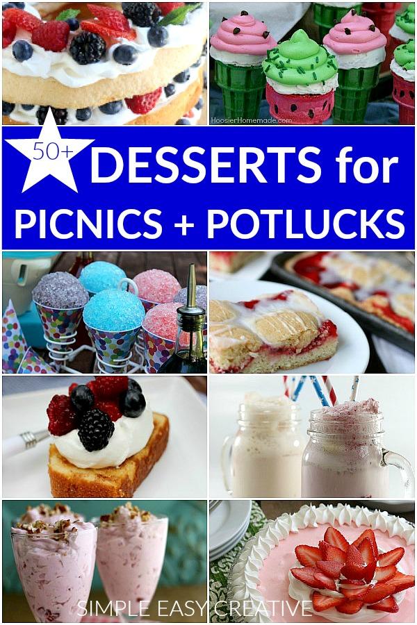 Memorial Day Desserts