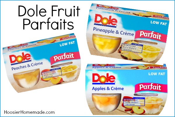 Dole Fruit Parfaits