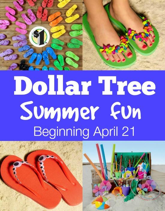 Dollar Tree Summer Fun