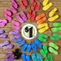 Dollar Tree Flip Flop Frenzy
