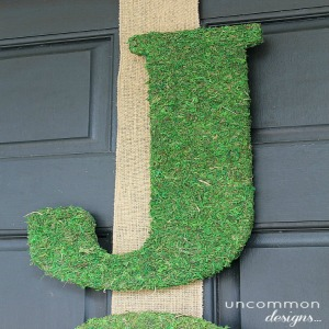 Holiday Door Decor :: HoosierHomemade.com