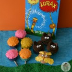 Dr Seuss Lorax Cupcakes - March 2012