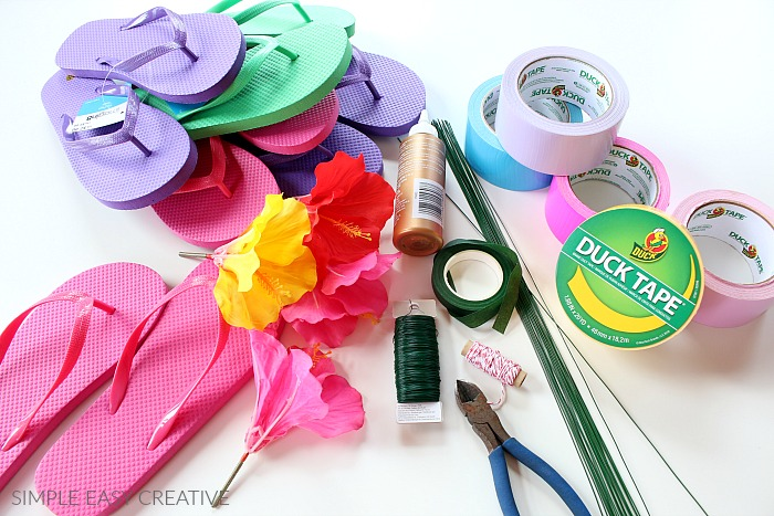 Duck Tape Flower Supplies