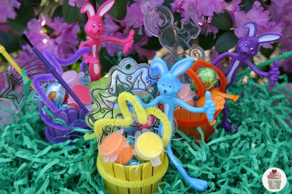 Mini Wooden Easter Basket Kids Craft Hoosier Homemade