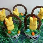 Easter Basket Cupcakes - April 2011