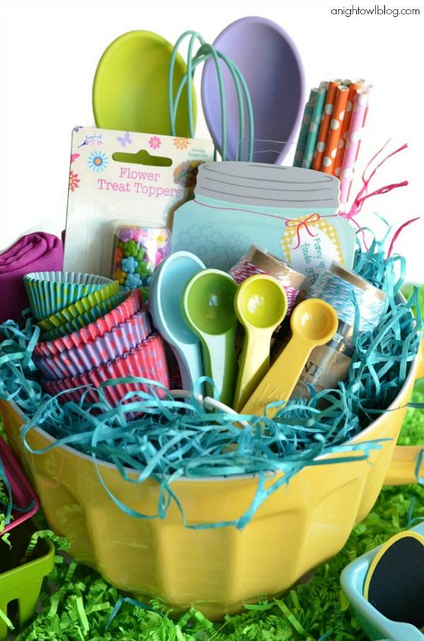 Baking Easter Basket