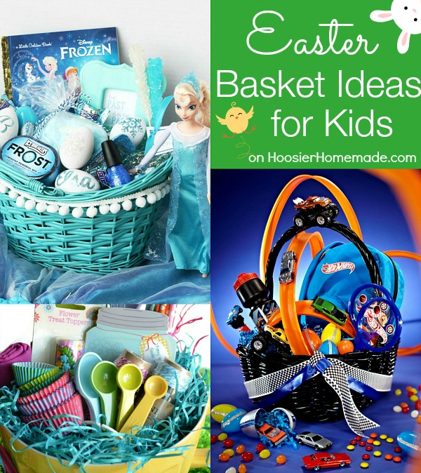 30 themed easter basket ideas hoosier homemade easter basket ideas for kids on hoosierhomemade negle Gallery