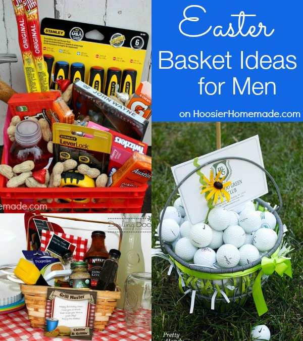 30 themed easter basket ideas hoosier homemade easter basket ideas for men on hoosierhomemade negle Image collections