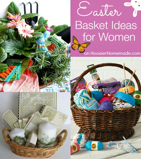 30 themed easter basket ideas hoosier homemade easter basket ideas for women on hoosierhomemade negle Gallery