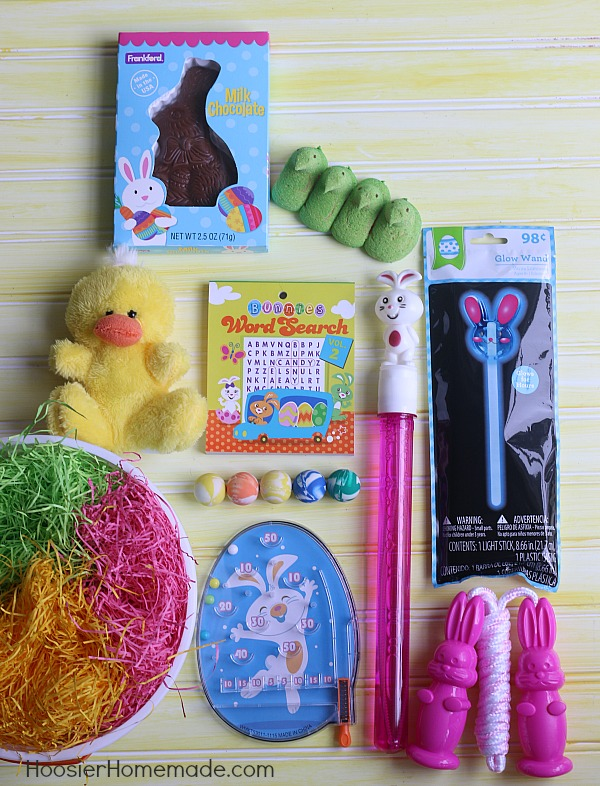 Grab everything you need to fill an Easter basket and still stay on budget!