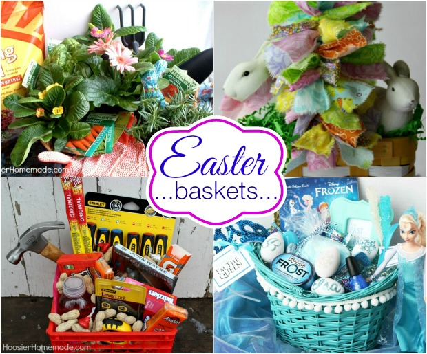 Easter Baskets on HoosierHomemade.com