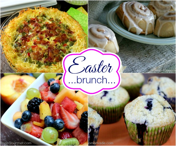 Easter Brunch Recipes on HoosierHomemade.com