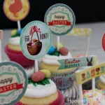 Easter Cupcake Toppers - March 2013