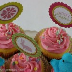 Easter Cupcake Toppers - April 2014