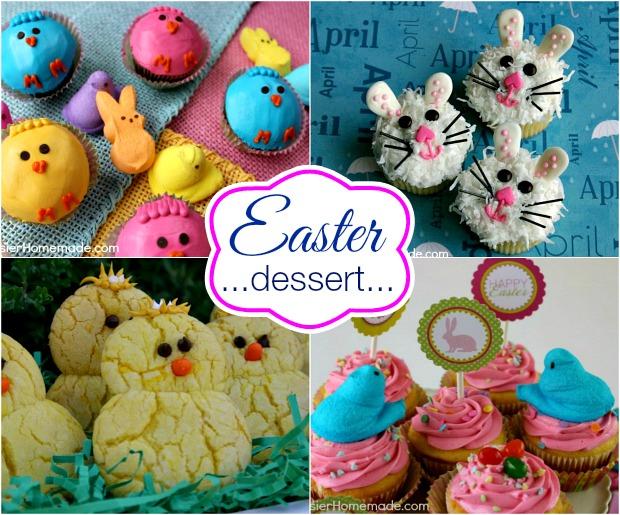 Easter Dessert Recipes on HoosierHomemade.com
