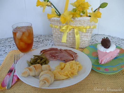 Easter Dinner And Our Menu Plan Hoosier Homemade