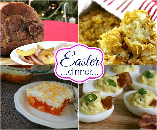Easter Dinner Recipes on HoosierHomemade.com