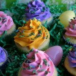 Easter Egg Cupcakes - April 2012