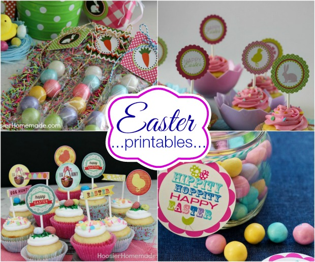 Easter Printables on HoosierHomemade.com