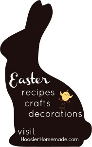 Easter Recipes, Crafts and Decor on HoosierHomemade.com