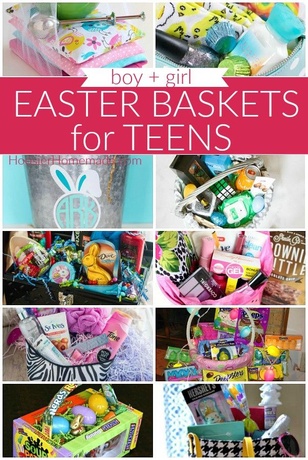 Easter Basket Ideas for Teenager
