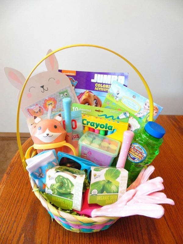 Non Candy Easter Basket Idea