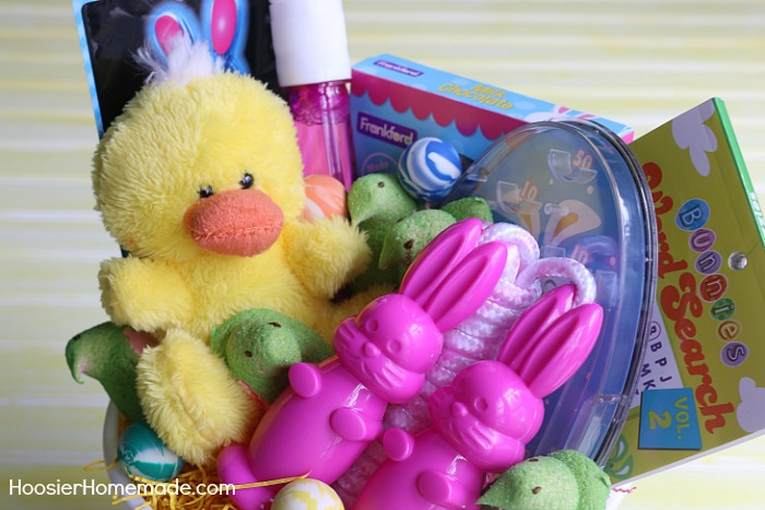 Don't break the bank on the easy Easter Baskets for Kids