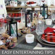 Easy Entertaining Tips