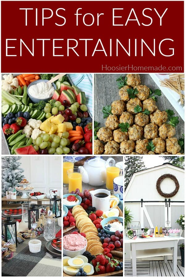 Easy Entertaining Tips