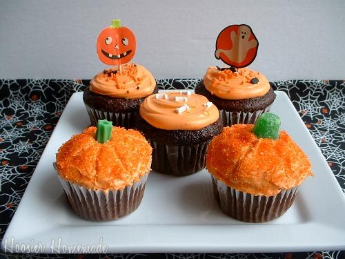 easy halloween cupcake recipe phil - Easy Halloween Cupcake Decorating Ideas