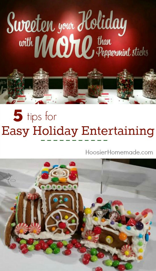 These tips for Easy Holiday Entertaining will make your holidays go smoothly and give you more time with family. Pin to your Christmas Board!