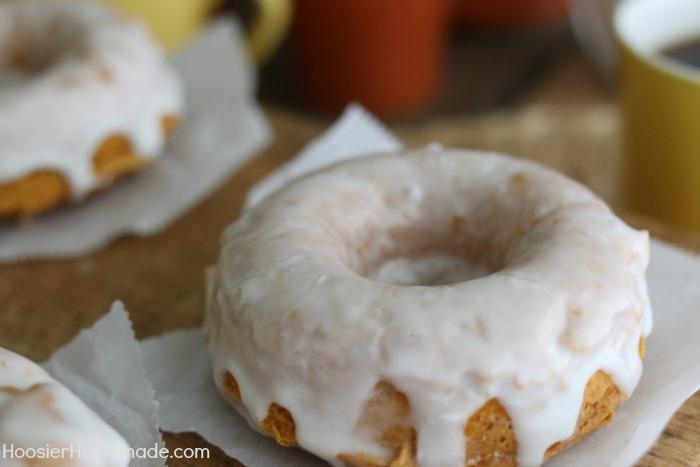 Homemade Pumpkin Doughnuts