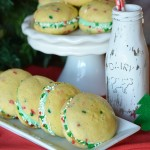 Simple and Easy Whoopie Pies are the name of the game! These fun treats are perfect for the holidays or change the flavor for any occasion. ONLY 4 ingredients plus frosting is ALL you need to make these special treats!