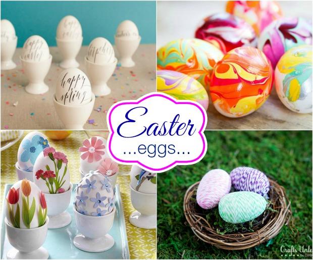 Easter Egg Decorating on HoosierHomemade.com