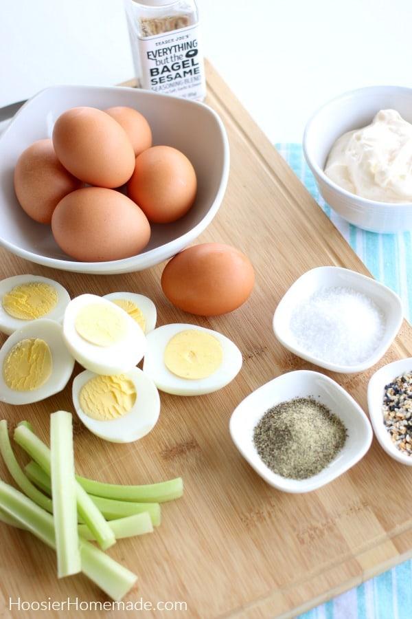 Ingredients for Egg Salad Recipe