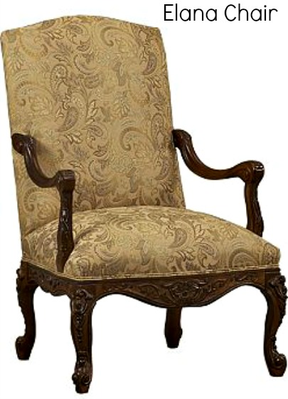 Elana Chair from Havertys