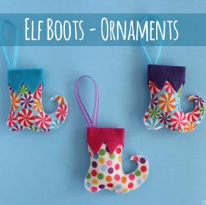 Elf Boots Ornaments :: HoosierHomemade.com