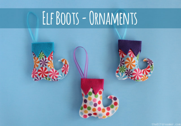 Make these darling Felt Christmas Ornaments to hang on your tree or give as Christmas gifts! Pin to your Christmas Board!