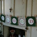 "Elf on the Shelf ""Be Good"" Banner"