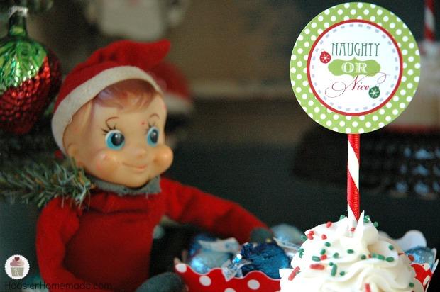 Elf on the Shelf Christmas Printables available on HoosierHomemade.com