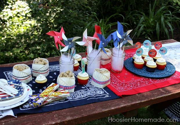 Easy table decorations summer entertaining hoosier homemade