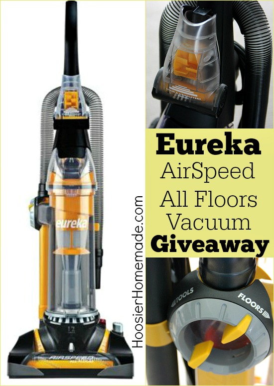 Eureka AirSpeed All Floors Vacuum Giveaway
