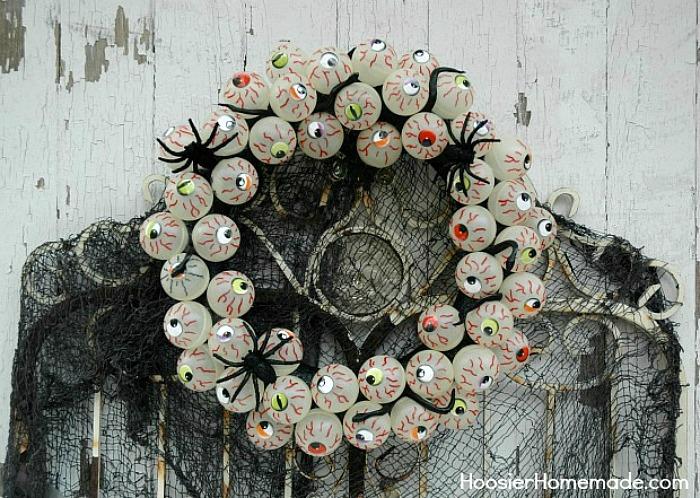 Eyeball-Wreath