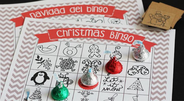 Printable Christmas Bingo – 100 Days of Homemade Holiday Inspiration