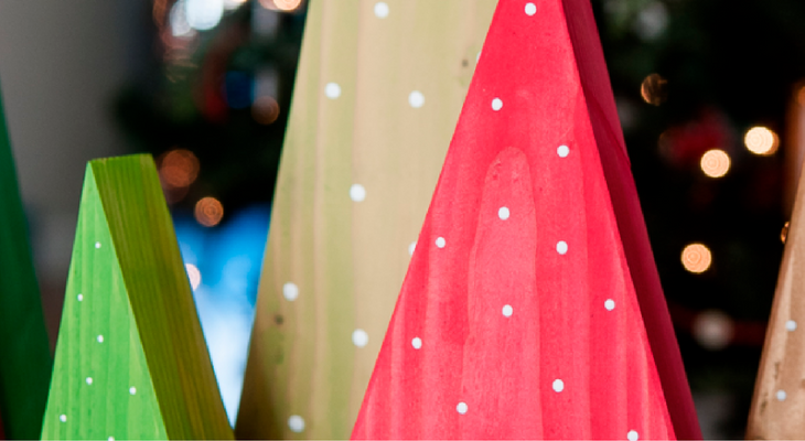 DIY Easy Christmas Tree – 100 Days of Homemade Holiday Inspiration