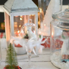 Low Cost Christmas Decorations – 100 Days of Homemade Holiday Inpsiration