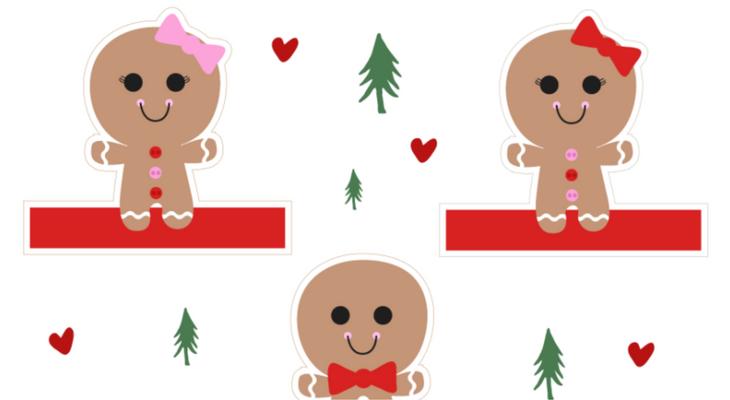 Printable Gingerbread Man Puppet