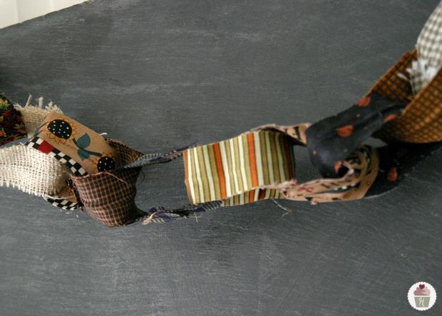 Fabric Chain Garland Tutorial Hoosier Homemade