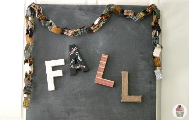 Fall Mantel - Sneak Peek :: HoosierHomemade.com